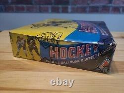 1978-1979 Opc O-pee-chee Vintage Hockey Box Wax (48 Packs) Bbce Authentifiés