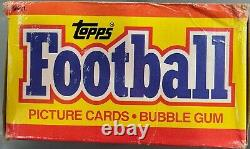 1988 Topps Football Wax Box 36 Packs Non Ouverts/non Fouillés Bo Jackson Rc
