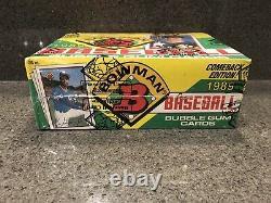 1989 Bowman Baseball Bbce Authentifié Sealed Box 36 Ct Ken Griffey Jr Rookie