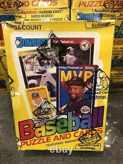 1989 Donruss Baseball Wax Box Bbce Authentique Fasc From A Sealed Case Griffey Rc