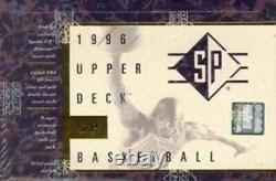 1995-96 Upper Deck Sp Authentic Basketball Hobby Box