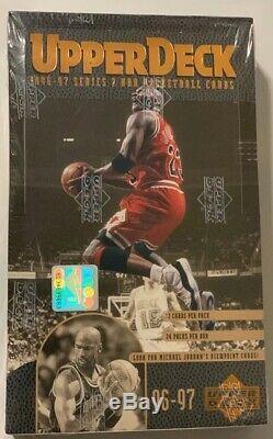 1996-1997 Série Upper Deck 2 Basketball Hobby Box 24 Pièces De L'usine Sealed