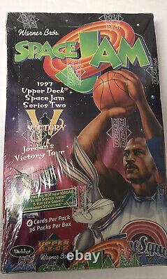 1996-1997 Upper Deck Space Jam Michael Jordan Basketball Hobby Box Series 2 Scellé