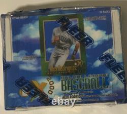 1997 Fleer Ex 2000 Baseball Hobby Box Scellé En Usine Paquet De 24 Scarce