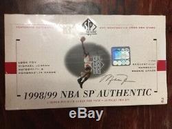 1998-1999 Nba Sp Authentique Basketball Scellé En Usine Box Upper Deck