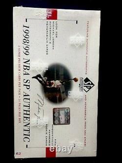 1998-1999 Sp Hobby Authentique Basketball Box Scellé En Usine Carter Dirk Rc, Jordan