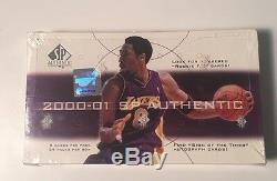 2000-01 Upper Deck Sp Authentique Basketball Hobby Box Scellé En Usine