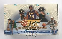 2001-02 Champions Et Contenders Basketball Topps Hobby Box Scellé En Usine