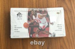 2003-04 Ud Sp Authentic Basketball Factory Sealed Hobby Box Lebron James Rc Année