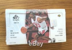 2003-04 Ud Sp Authentique Basketball Scellé En Usine Hobby Box Lebron Rc Année