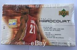 2003-04 Upper Deck Hardcourt Basketball Hobby Box Scellé En Usine