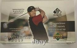 2004 Upper Deck Sp Authentique Golf Hobby Box Scellé En Usine Paquet De 24