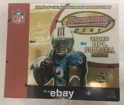 2005 Bowman Meilleur Football Hobby Box Scellé En Usine