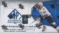 2008-09 (2009) Upper Deck Sp Authentic Hockey Factory Sealed Hobby Box 3 Autos