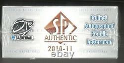 2010-11 Sp Authentique Basketball Basketball Box Michael Jordan Auto