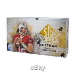 2013 Upper Deck Sp Authentique Football Hobby Box
