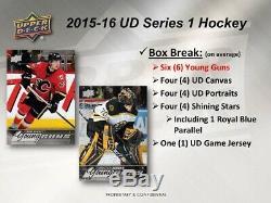 2015-16 Upper Deck Series 1 Box Hockey Hobby