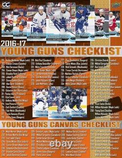 2016-17 Upper Deck Série 1 Boîte De Loisirs De Hockey
