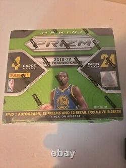 2018-19 Panini Prizm Basketball 24 Paquet Retail Box Scellé En Usine Luka Doncic