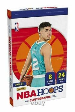 2020/21 Panini Nba Hoops Basketball Factory Scelled Hobby Box