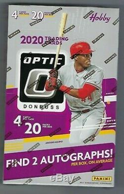 2020 Donruss Optic Baseball Hobby Box