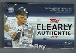 2020 IL Est Clair Authentique De Baseball Topps Hobby Box