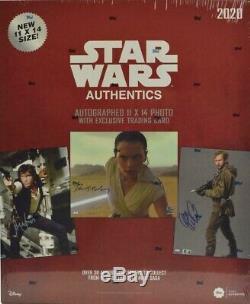 2020 Topps Star Wars Blind Authentics Autographs Hobby Box Etanche