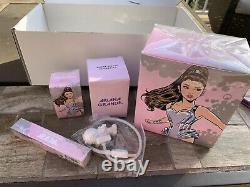 4pc Ariana Grande R. E.m. Fan Box Parfum Cadeau Set 100% Authentique