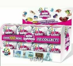 5 Surprise! Mini Marques Pleine Case Boîte De 12 Balles Made By Zuru! Nouveau! Authentique