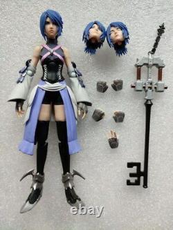 6 Authentic Bring Arts Aqua Kingdom Hearts 3 Action Figure (pas De Boîte)