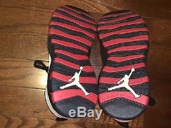 Air Jordan 10 Chicago X Sz 10,5 À 100% Authentique Nouveau Avec La Boîte
