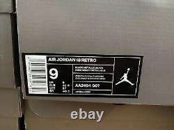 Air Jordan 18 Retro Black Sport 2018 Nouveau Avec Des Tailles De Boîte 8.5-9 100% Authentique