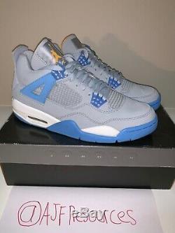 Air Jordan Retro 4 Blue Mist Tout Neuf, Avec Box Authenticated (taille 9)