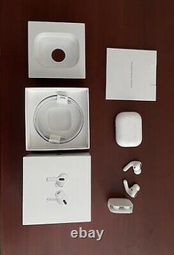 Apple Airpods Pro White (open Box) Garanti Authentique Avec Série Valide #