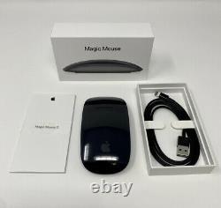 Apple Magic Mouse 2 (nouveau, Open Box) Espace Gris, Authentique/oem, A1657, Mrme2ll/a