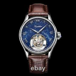 Astrologie De Constellation Tourbillon Flying Authentique En Cuir