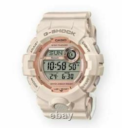 Authentic Casio G-shock Bluetooth Step Tracker Montre Rose Pour Femmes Gmdb800-4