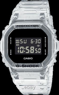 Authentic Casio G-shock Transparent Pack Series Montres Homme Dw5600ske-7 Nouveau
