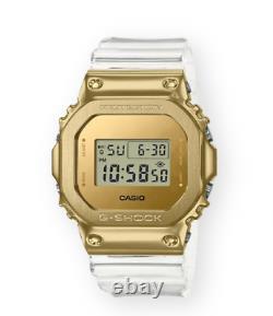 Authentic G-shock Casio Edition Limitée Gold Ip Transparent Men Watch Gm5600sg-9