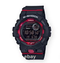 Authentic G-shock Casio G-squad Bluetooth Step Tracker Montre Homme Gbd800-1