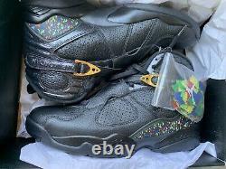 Authentic Jordan 8 Confetti Brand New In Box Taille 10.5