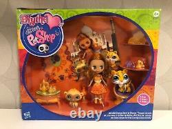Authentic Littlest Pet Shop Nouveaut En Box #b46 Poupée #2457 Singe #2458 Tigre Jaguar