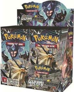 Authentic Sm Ultra Prism Sealed Booster Box (36 Packs De Cartes Pokemon Officielles)