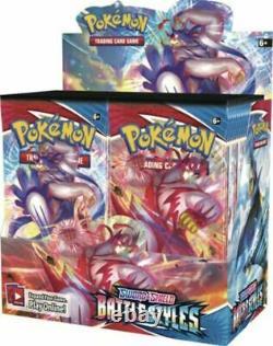 Authentic Swsh Battle Styles Sealed Booster Box (36 Packs De Cartes Pokemon)