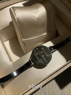 Authentique B. Zero1 Bvlgari Watch Couleur Noir En Boîte Près Nouveau