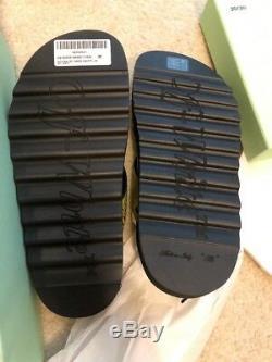 Authentique Blanc Cassé Taille Sandal Ceinture Industrielle 38 Nouveau Dans La Boîte