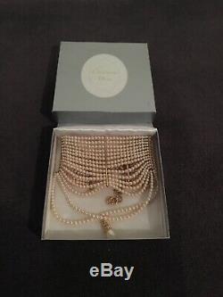 Authentique Christian Dior Par John Galliano Masai Collier De Perles Neuf Dans La Boîte