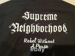 Authentique Ds Supreme X Neighborhood Nbhd Skull Box Logo Tee Black XL Xlarge