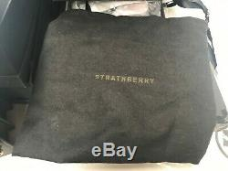 Authentique Épaule Strathberry East West Convertible Bag Green Nwt & Boîte Mini