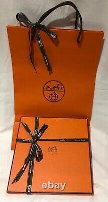 Authentique Hermès Paris, Écharpe En Soie New+box+ribbon, Belles Du Mexique, Jarmin